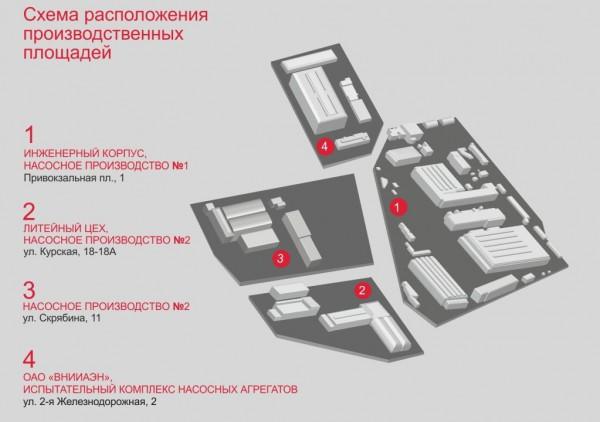 Схема производственных площадей/shema